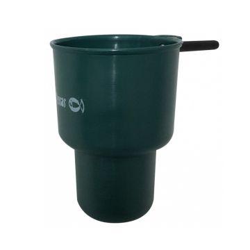 Sensas Cup Competition Dubbele Bodem groen witvis viskatapult