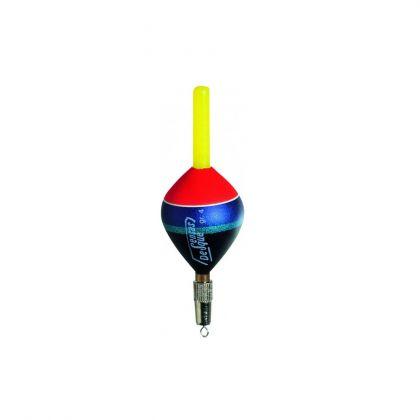 Sensas Dobber Forel 1000 noir - rouge - blue  4g