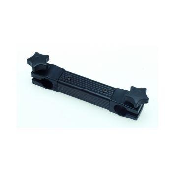 Sensas Dwarssteun 2 Gaten D25MM zwart witvis  20cm