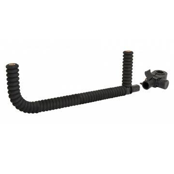 Sensas Easy Fix Jumbo Steun Dubbel Coude zwart witvis  32x12cm D25-30-36mm