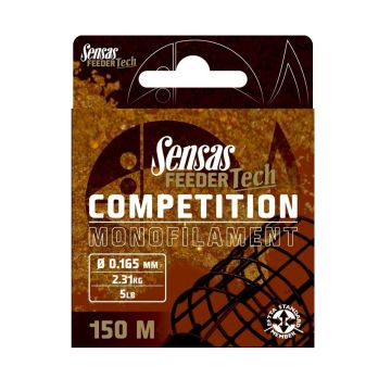 Sensas Feeder Tech rood visdraad 0.185mm 150m