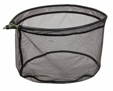 Sensas Fisherie Rubber zwart - groen visschepnet 55cm