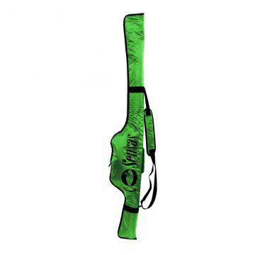 Sensas Foedraal Challenge groen - zwart visfoudraal 1m55
