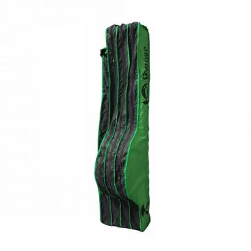 Sensas Foedraal Challenge Matchhengels groen - zwart visfoudraal 1m55