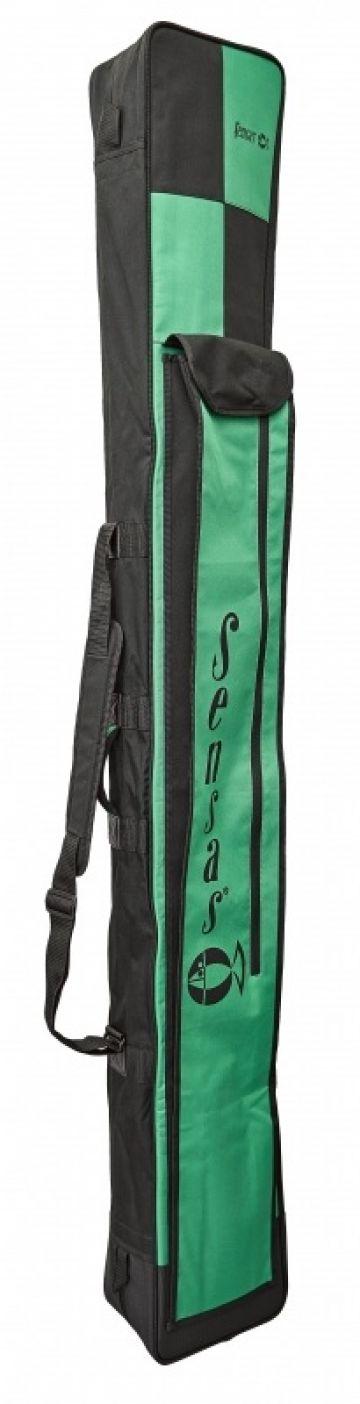 Sensas Foedraal Classic Competition zwart - groen visfoudraal 190x20x15cm