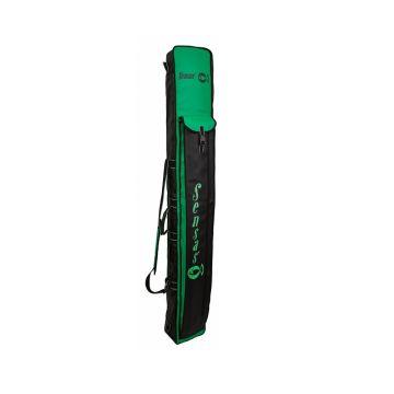 Sensas Foedraal Jumbo zwart - groen visfoudraal 190x24x17cm