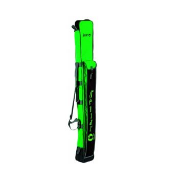 Sensas Foedraal Team Wedstrijd zwart - groen visfoudraal 190x20x15cm
