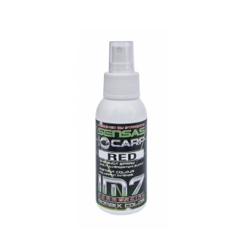 Sensas IM7 Bombix Color rood witvis visadditief 75ml