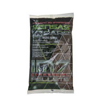 Sensas IM7 Extruded Pellets Natural Fishmeal bruin vispellets 4mm