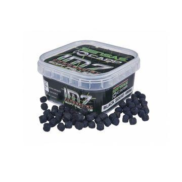 Sensas IM7 Soft Pellets Black Squid zwart vispellets 4mm