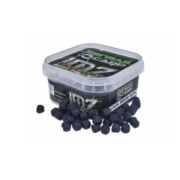 Sensas IM7 Soft Pellets Black Squid zwart vispellets 6mm