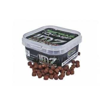 Sensas IM7 Soft Pellets Bloodworm bruin vispellets 4mm
