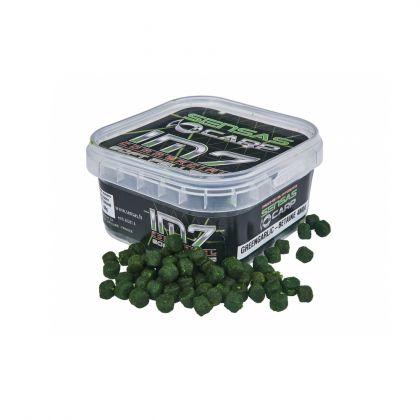 Sensas IM7 Soft Pellets Green Garlic Betaine groen vispellets 4mm