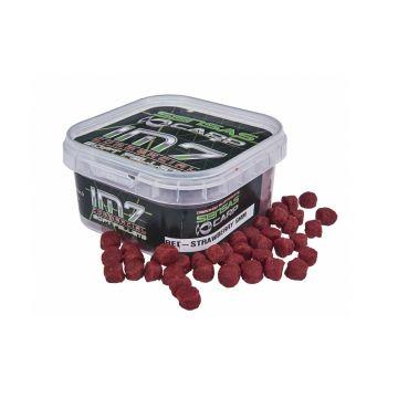 Sensas IM7 Soft Pellets Red Strawberry rood vispellets 6mm