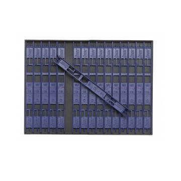 Sensas Inbouwbox + Tuigenrekjes donker blauw onderlijn plankje 19cm L