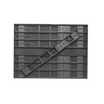 Sensas Inbouwbox + Tuigenrekjes donker groen onderlijn plankje 26cm Xl