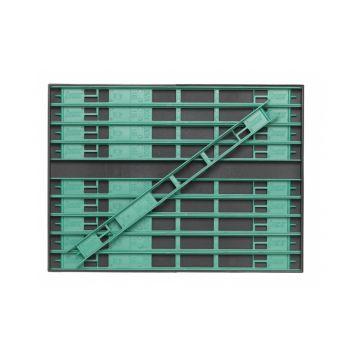Sensas Inbouwbox + Tuigenrekjes groen onderlijn plankje 26cm L