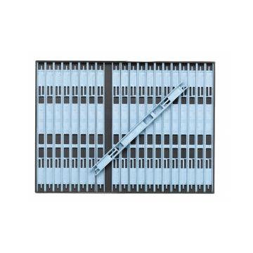 Sensas Inbouwbox + Tuigenrekjes licht blauw onderlijn plankje 19cm M