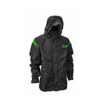 Sensas Jack Brittany Waterproof zwart - groen visjas Medium