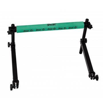Sensas Jumbo Hengelsteun Groen zwart - groen witvis  60x40x36cm D.25-30-36mm