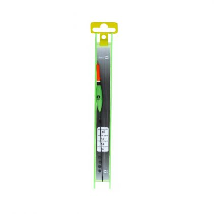 Sensas K-E-K Tuig Sandrine zwart - groen kant & klare vislijn 1.00g 0.12mm H16