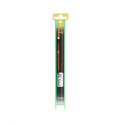 Sensas K-E-K Tuig Sophie zwart - rood kant & klare vislijn 0.80g 0.14mm H16