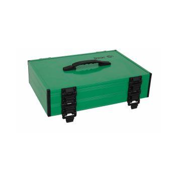 Sensas Lijnkoffer zwart - groen witvis  41x28.5x10cm