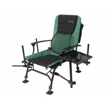 Sensas London Feeder Chair zwart - groen visstoel