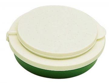 Sensas Madendoos Dubbel groen - wit madendoos 1/4l