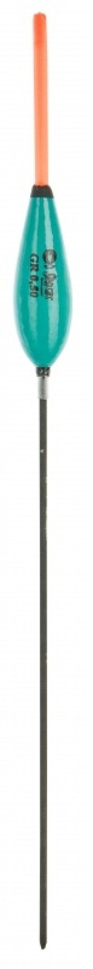 Sensas MAMMOTH PASSANT CLASSIC zwart - groen witvis visdobber 0.20g