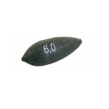 Sensas Olivette Druppel groen vislood 0.80g