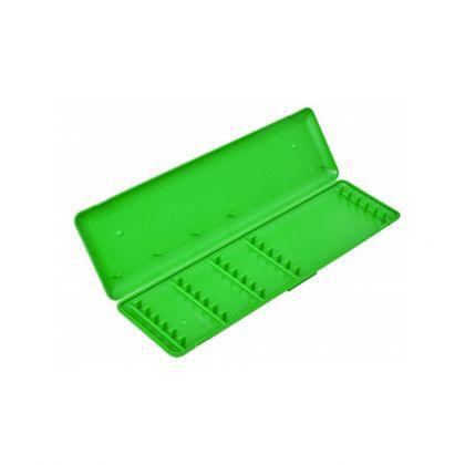 Sensas Onderlijnbox Kunststof groen - wit visdoos