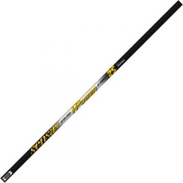 Sensas Pack H-Power Carp 25 zwart - geel - wit witvis vaste hengel 10m00