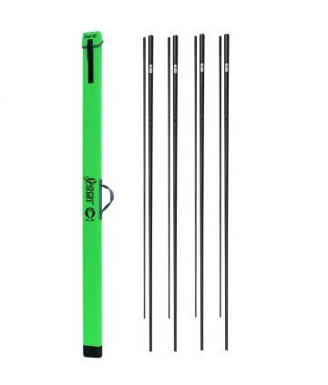 Sensas Pack Kits Fighting Tele Specimen - 4st. zwart - goud witvis topset vaste hengel 2-delig