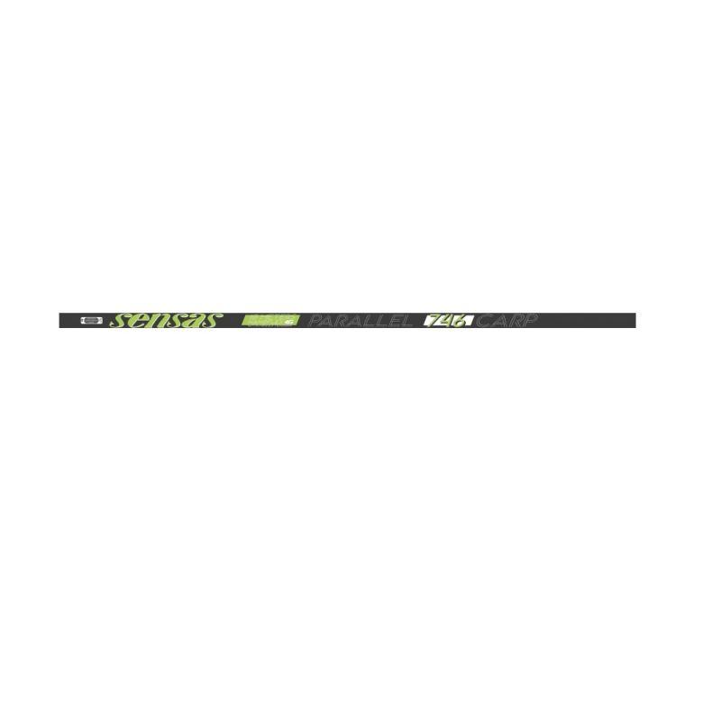 Sensas Pack Nanoflex Parallel 746 Carp zwart - groen - wit witvis vaste hengel 10m00