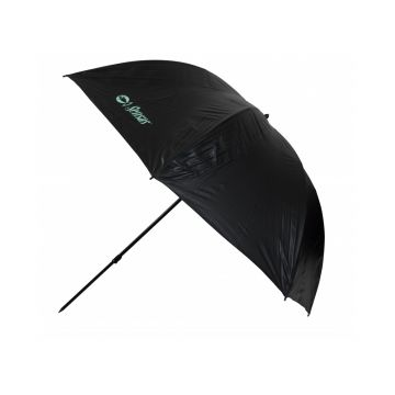 Sensas Paraplu Belfast zwart - groen visparaplu 2m50