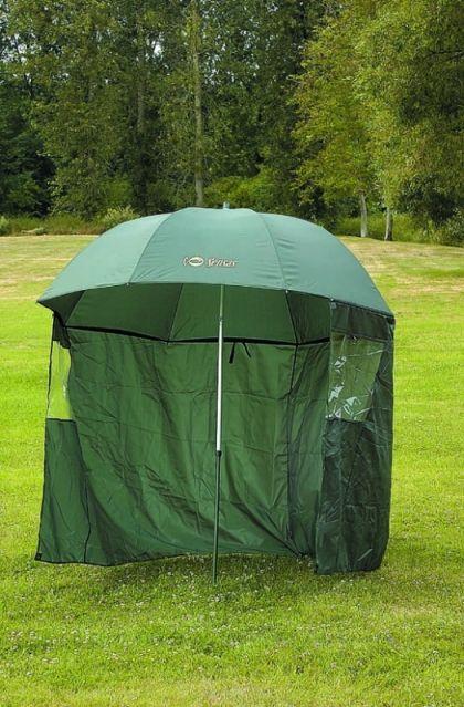 Sensas Paraplutent Nylon groen visparaplu 2m20