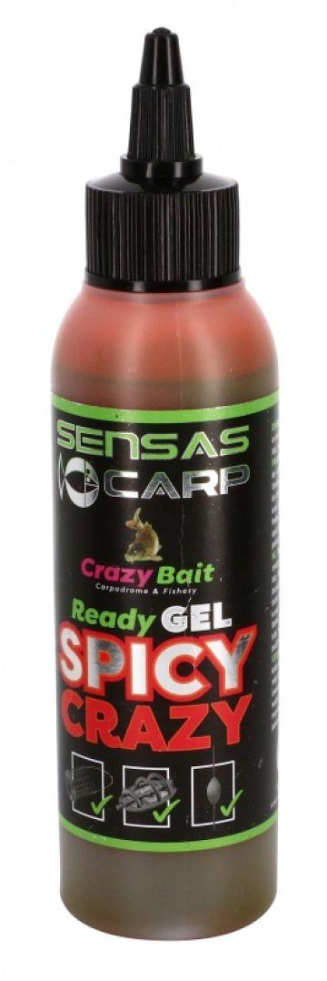 Sensas Ready Gel Spicy Crazy rood aas liquid 115ml