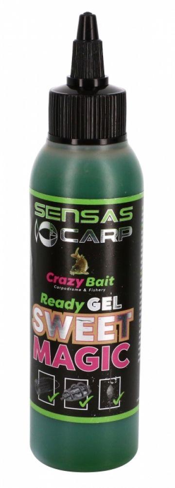 Sensas Ready Gel Sweet Magic bruin aas liquid 115ml