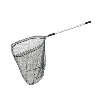 Sensas Roofvisnet Rechthoekig Opvouwbaar zwart - zilver roofvis visschepnet 2m90