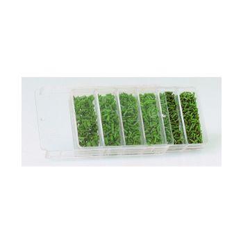 Sensas Siliconen Assortimentdoos GM groen klein vismateriaal