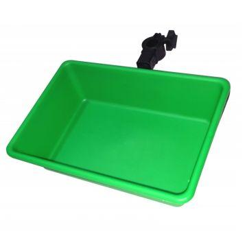 Sensas Steun + Groene Bak Jumbo groen - zwart witvis  D25-36mm