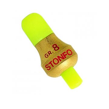 Sensas Stonfo Peillood goud - geel vislood N°5