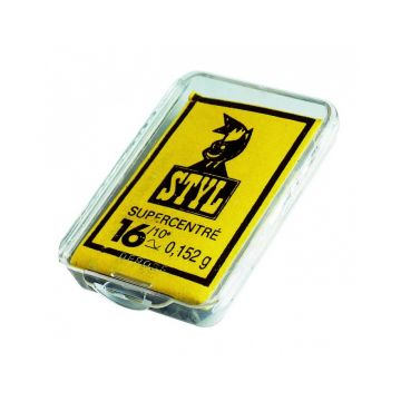 Sensas Styllood Standaard nickel vislood N°15 0.126g