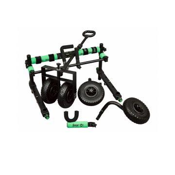 Sensas Super Set Accessoires Jumbo zwart - groen witvis