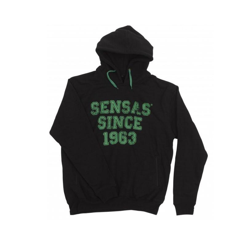Sensas Sweat Mode zwart - groen vistrui Small