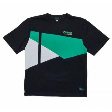 Sensas T-Shirt Fashion Club zwart - groen - wit vis t-shirt Medium