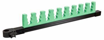 Sensas Topsetsteun Jumbo Universeel 9 Dragers zwart - groen witvis  75cm