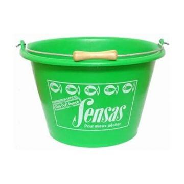 Sensas Voeremmer groen visemmer 37x35x20cm