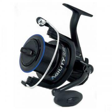 Shakespeare Agility Surf zwart - blauw zeevis zeemolen 80